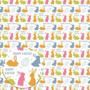 happy easter printable background