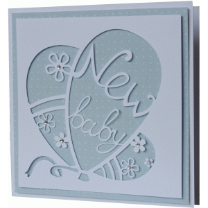 daniela angelova new baby card