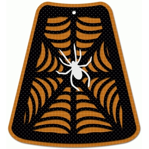 halloween spider tag