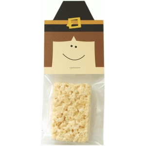 pilgrim boy treat bag topper