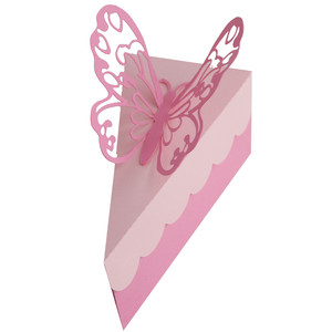 butterfly cake slice box