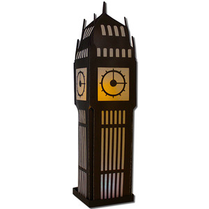 big ben clock lantern (flameless)