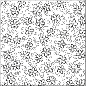 flower pattern sketch