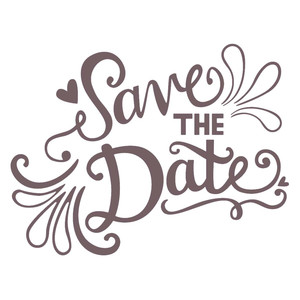 save the date phrase