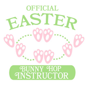 official easter bunny hop instructor