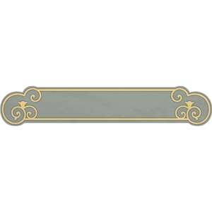 wrought iron scroll frame