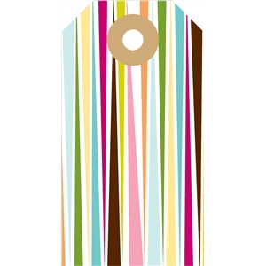 stripy tag