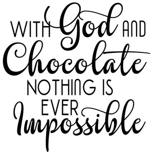 with god & chocolate