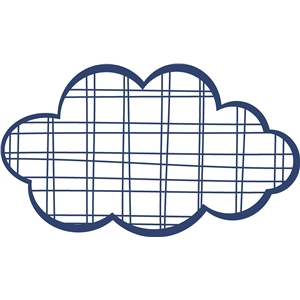 plaid cloud