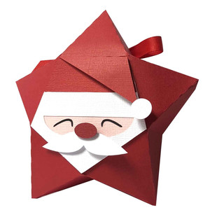 santa claus star box