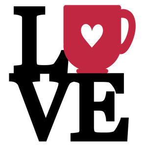stacked love - coffee