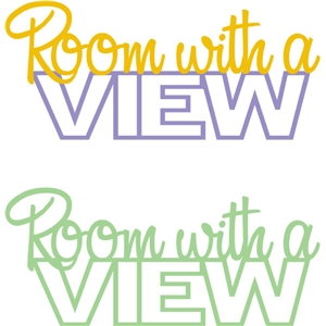room with a view phrase