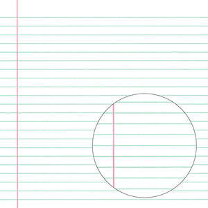 notebook paper pattern