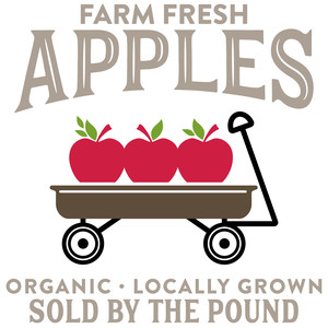 farm fresh apples