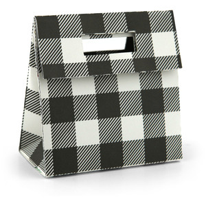 gift bag with magnet or velcro closure