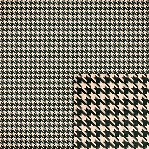 black houndstooth background paper