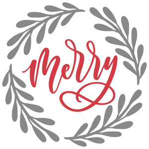 merry wreath