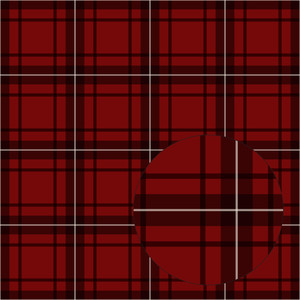 red christmas plaid seamless pattern