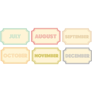 days of the month tickets