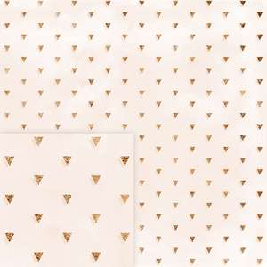 golden triangles pattern