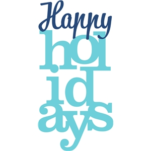 'happy holidays' phrase