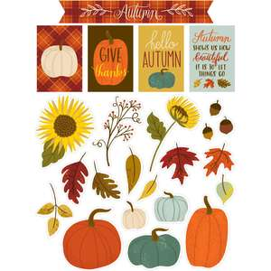autumn sky stickers
