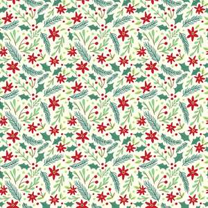 holiday greens pattern