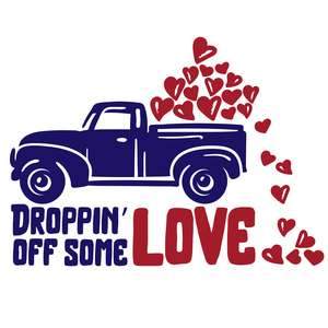 droppin' off some love