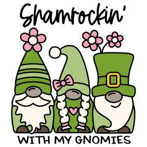 shamrockin' with my gnomies