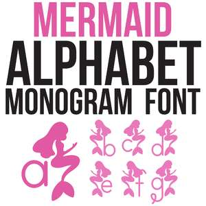 cg mermaid monogram