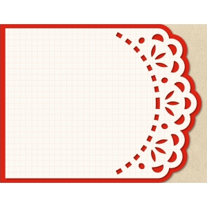 a2 lori whitlock card base: lace