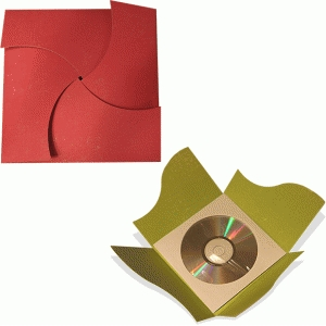 cd or card wrap curved sides