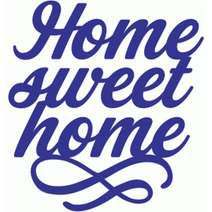 home sweet home flourish