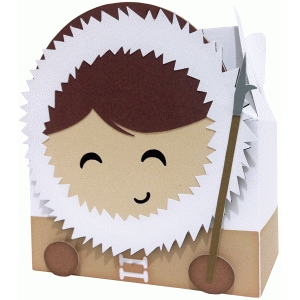 cute eskimo box