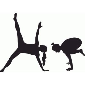 Yoga Set Crow Pose