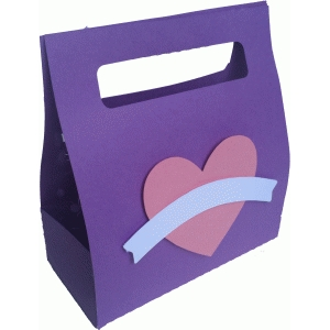 heart treat bag