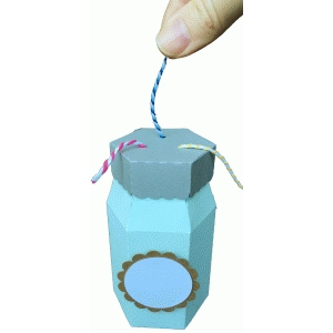 mason jar twine dispenser