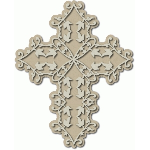 ivy leaf cross