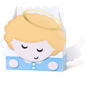 cute blonde boy angel box