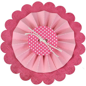 basic button rosette medallion