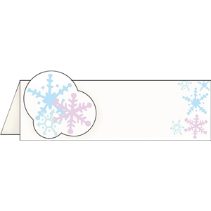 snowflake placecard pnc