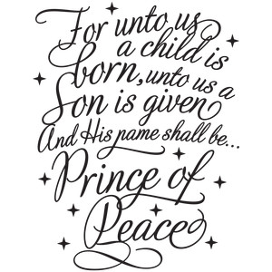 a child is born prince of peace