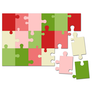 easy cut activity puzzle 6 in. x 9 in.