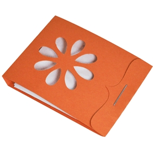 matchbox notepad flower