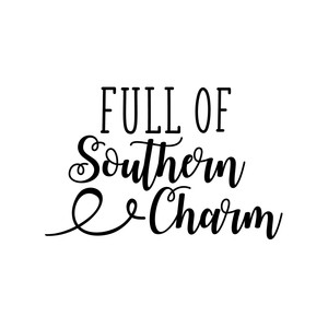 full of southern charm