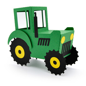 3d tractor box