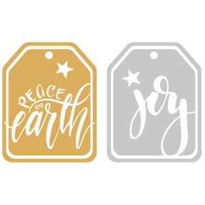peace and joy tags