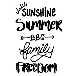 sunshine summer bbq family freedom