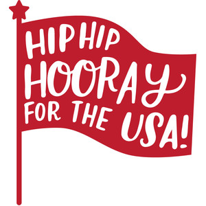 hip hip hooray for the usa