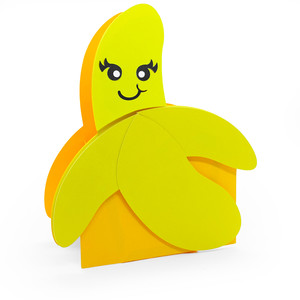 cute banana box